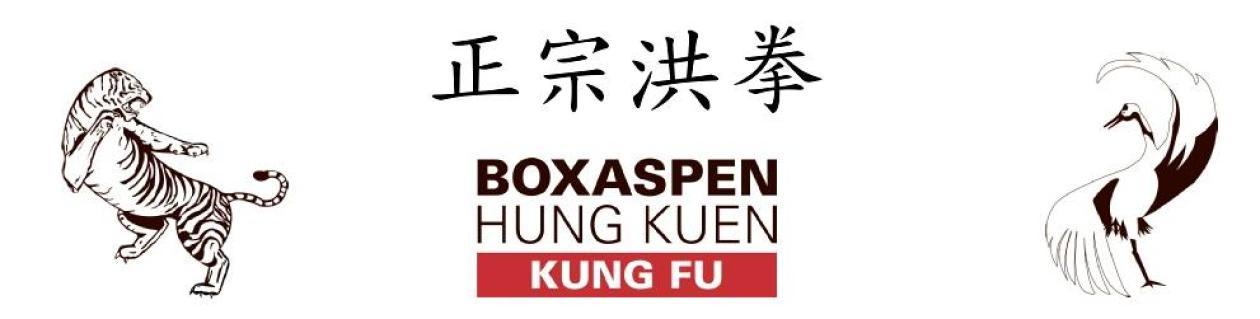 Kung Fu Bergen – Boxaspen Hung Kuen